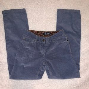 Mini Boden Girls Cordouroy Jeans 11Y Beautiful